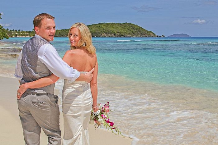Anne Marie Tropical Beach Wedding